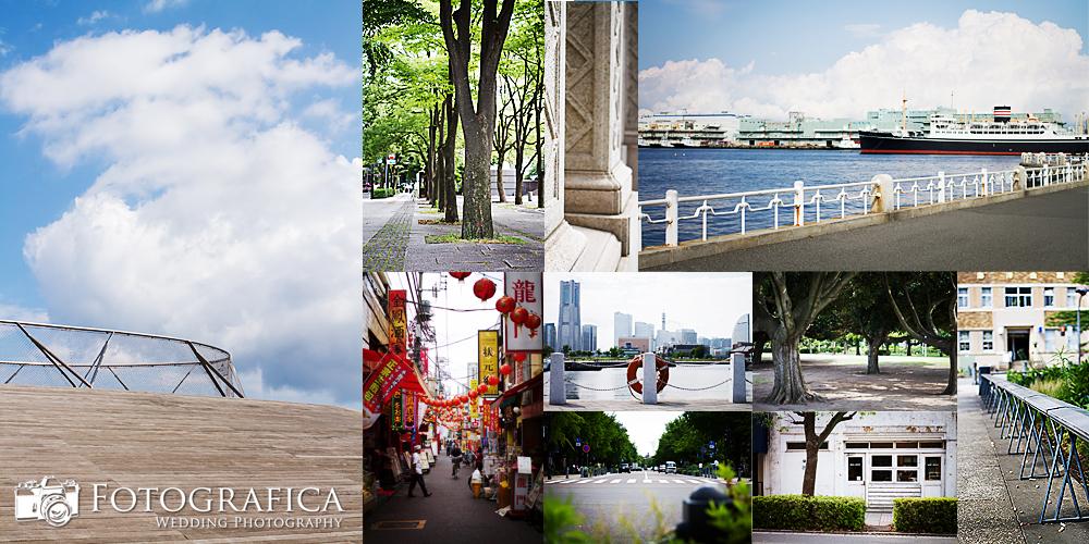 エンゲージメントフォト&横浜記念撮影