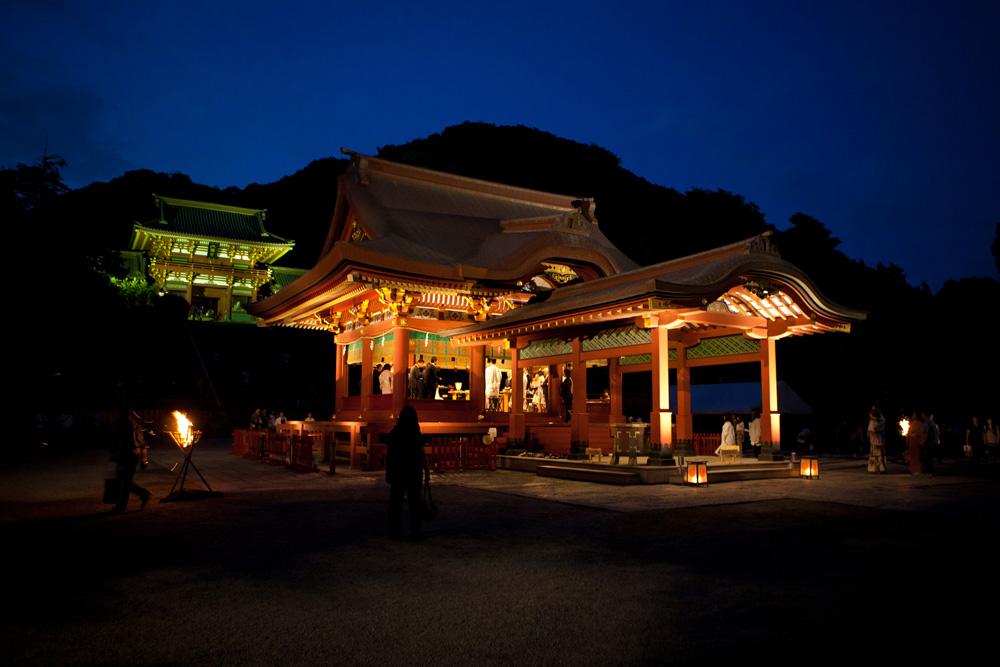 鎌倉鶴岡八幡宮-幸あかり-