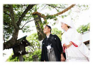 伊勢山皇大神宮の結婚式写真