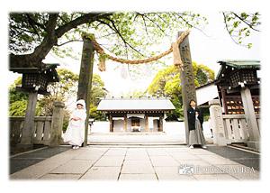 伊勢山皇大神宮の結婚式撮影