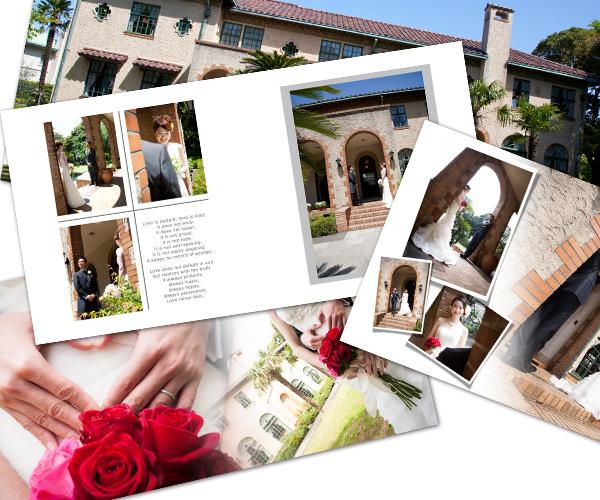 結婚写真を知り尽くしたフォトオフィスの結婚報告はがき